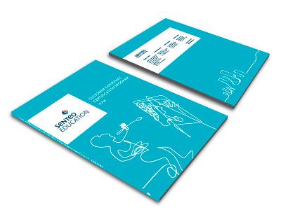 Senteo Inc. logo design branding brand
