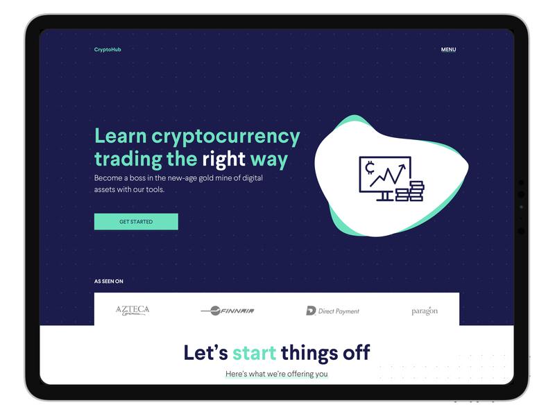 Cryptohub Website Redesign