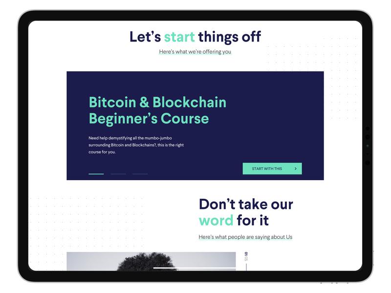 Cryptohub Website Redesign-2