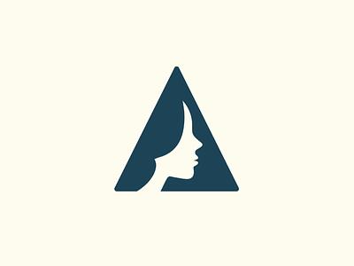 AncientFaces  /  Rebrand design logo icon ui vector animation ux web design logo design branding