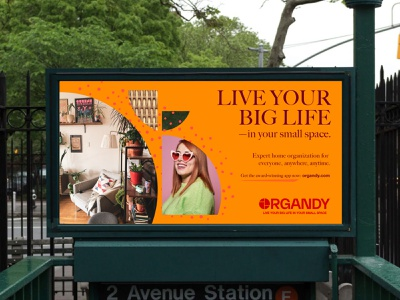 Organdy  /  Brand Identity campaign ad billboard design signage graphic design brand identity design logo logo design branding