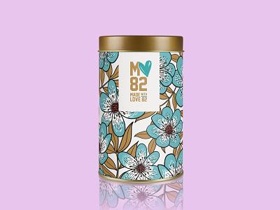 Made with Love 82  /  Brand Identity handmade goods pro bono graphic design illustration vector design logo logo design branding
