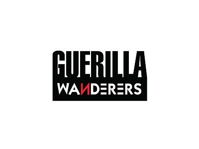Guerilla Wanderers Logo Design logo agency branding branding logo design