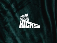 Wear Your Kicks Logo Design