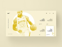 Nike Whiteout Landing Page Exploration
