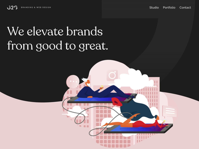 G2G Branding and Website Design consulting logo consulting gold foil animation design ui ux web design branding logo design