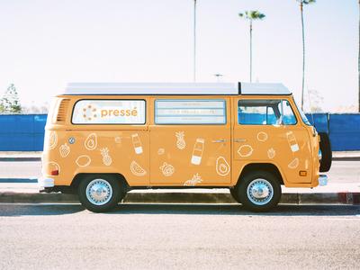 Branded Camper Van