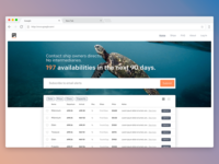Galapagos Cruise Links Website Concept