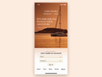 Mobile Sign Up - Daily UI #001