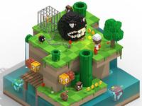 Mario Bros Scene