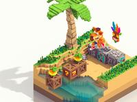Crash Bandicoot fan art