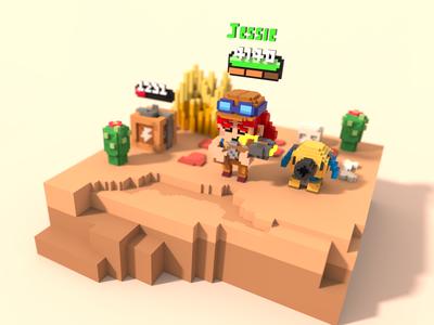 Jessie - Brawl Stard