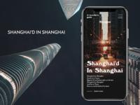 Shanghai'd in Shanghai