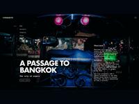 A Passage To Bangkok