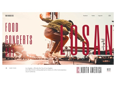Theme For Great Cities - L.A losangeles webdeisgn
