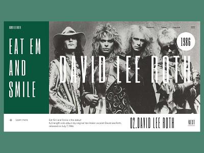 David Lee Roth - Eat Em And Smile webdesign david lee roth