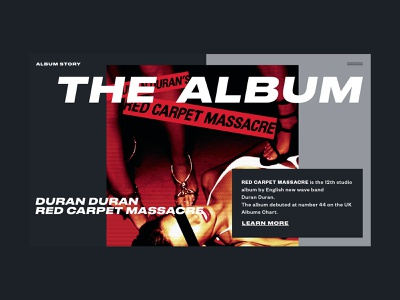 Duran Duran — Red Carpet Massacre web music duran duran