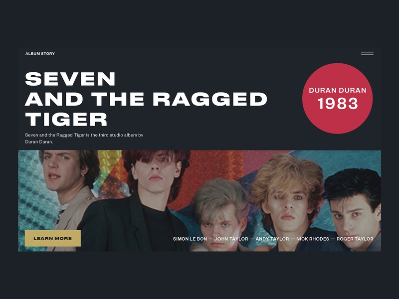 Duran Duran — Seven And The Ragged Tiger