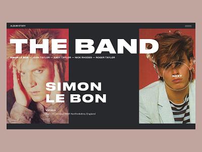 Album Story — Duran Duran music web duran duran