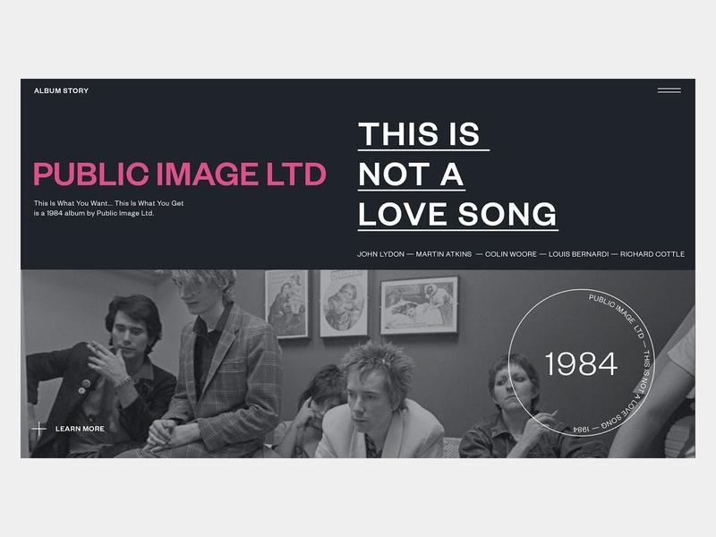 Public Image LTD — Album Story