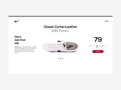 A Look That Kills — Nike nike webdesign