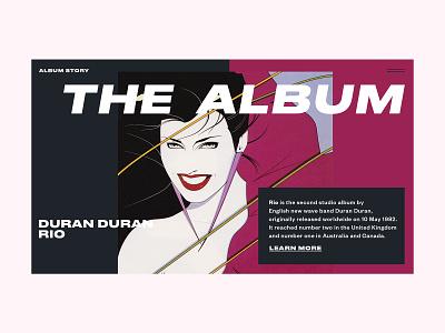 Duran Duran — Rio webdesign duran duran