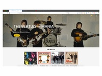 Record Store —  Campaign Page (The Beatles)