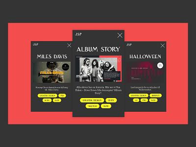 Screen shots webdesign