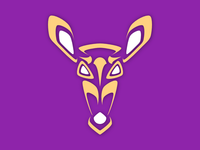 Fawn Face Twitch Icon fawn deer animal branding icon logo twitch