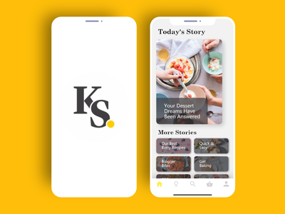 Kitchen Stories Redesign iphone x mobile kitchen food app concept redesign ui