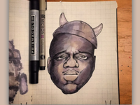 "Inktober Day 23: Juicy - ""Notorious M.eM.o."""