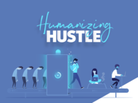 Humanizing Hustle Illustration