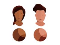 Skin Tones and FREEBIE 128 SkinTone palettes master list