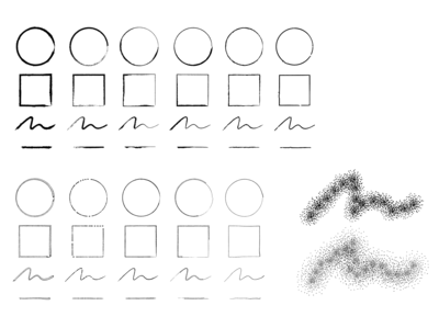 FREEBIE–Hand Sketch and Stipple Brushes