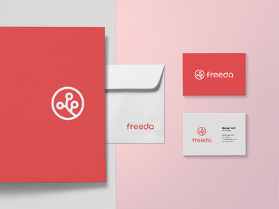 Freeda branding businesscard company logo company brand logo company branding companybrand branding brand brand design