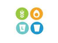 food intolerance icon set