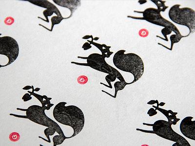 my logo pattern badge stamp pattern graphic design design logodesign black red monogram apple logo fox