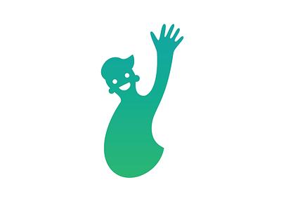 Hi buddy! vectordesign vector buddy hi simple graphic graphicdesign design blue man icon