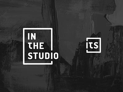 In the studio logo vector typogaphy line logo typo logo simple art logo studio art logo