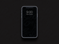 Topography Wallpaper ui design mobile ui free ios android mobile wallpaper