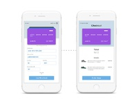 Dailyui 002 mobile credit card checkout