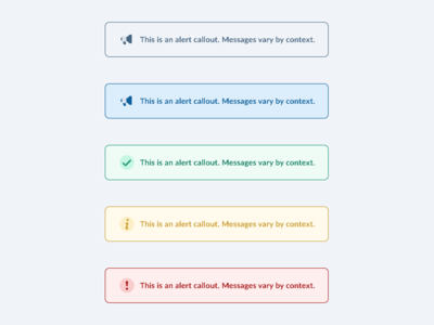 Alerts & Warning Dialog boxes