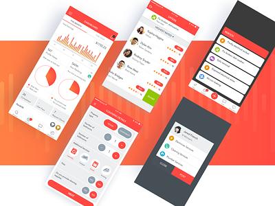 Dashboard - Mobile app beesightsoft dribbble design dashboard app mobile