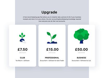 Upgrade - Website green illustration ui beesightsoft website design