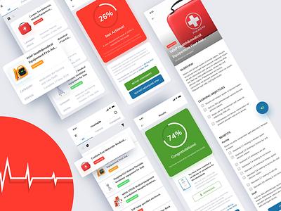 Healthlife   Mobile green blue design app mobile health app health