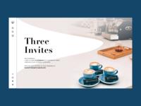 Three Invites   Dribbble