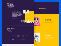 Kolabo Landing Page