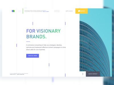 E-commerce Homepage australia subscribe startup consultant ecommerce australia free interface weblanding app landing uiux