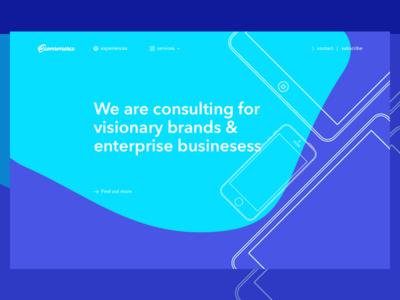 Ecommerce - New Concept australia subscribe startup consultant ecommerce australia free interface weblanding app landing uiux