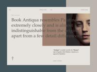 Typoforma - Book Antiqua Origin